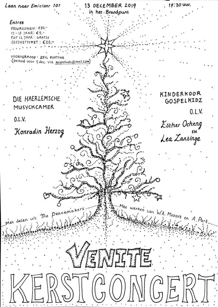 Kerstconcert 'Venite' @ Brandpunt