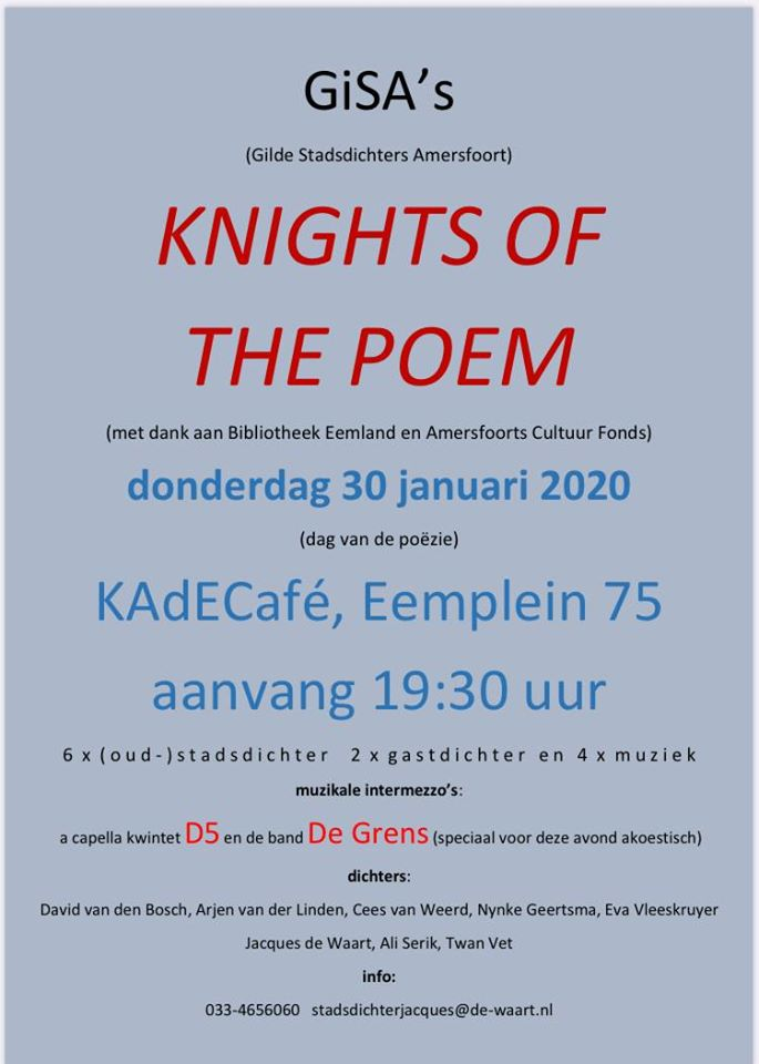 Knights of the Poem @ KAdECafé