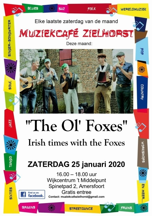 The Ol' Foxes @ Muziekcafé Zielhorst