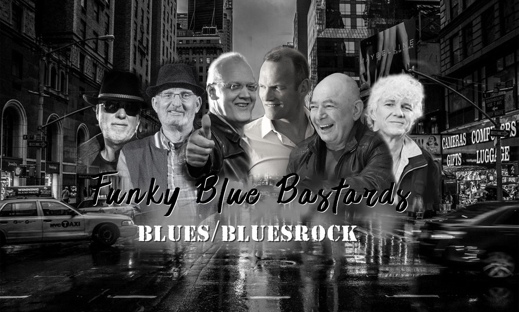 Funky Blue Bastards @ Café de Noot