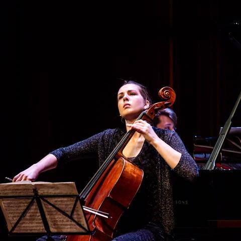Eline Hensels (cello) @ St Aegtenkapel