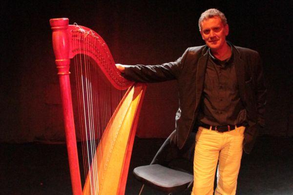 Concert harpist Didier Kügel @ De Mannenzaal