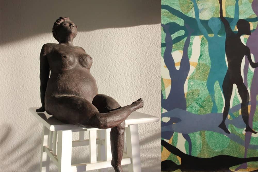 Kunstcafé: Hettie Steenstra & Stella Bisschops @ Theater De Tuin
