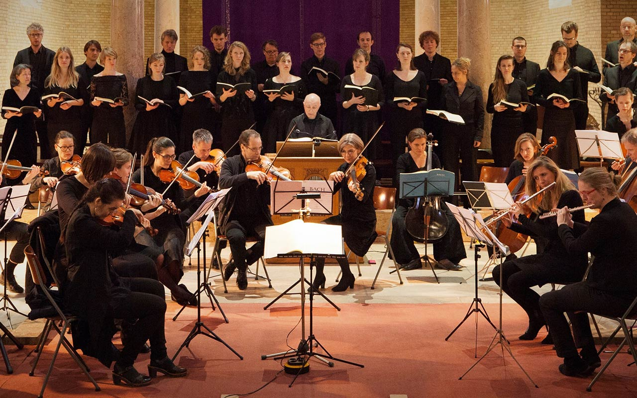 Bach Ensemble Amsterdam: Matthäus Passion -uitverkocht- @ Bergkerk