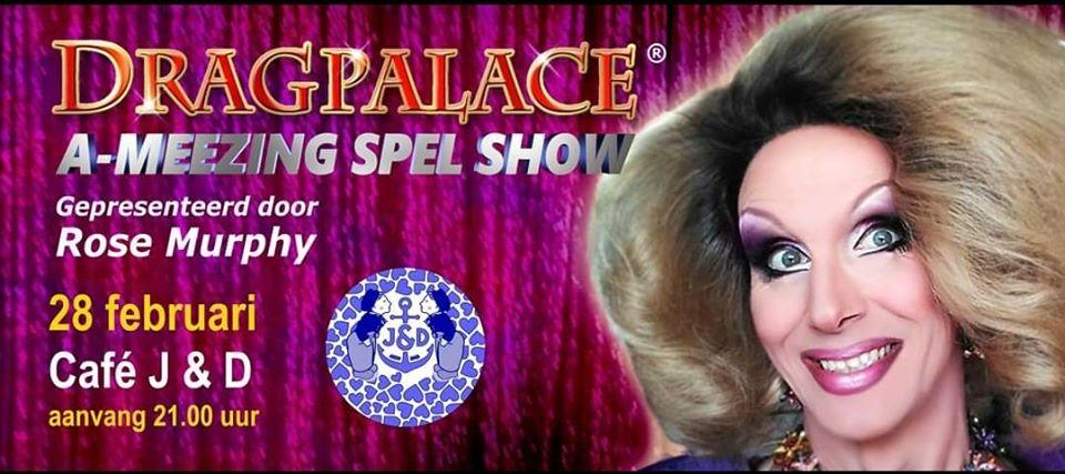 Dragpalace: A-Meezing Spel Show @ J & D