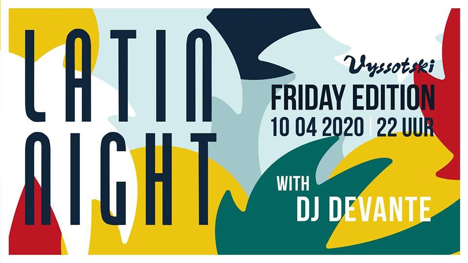 Latin Night - Friday edition @ Grand Café Vyssotski