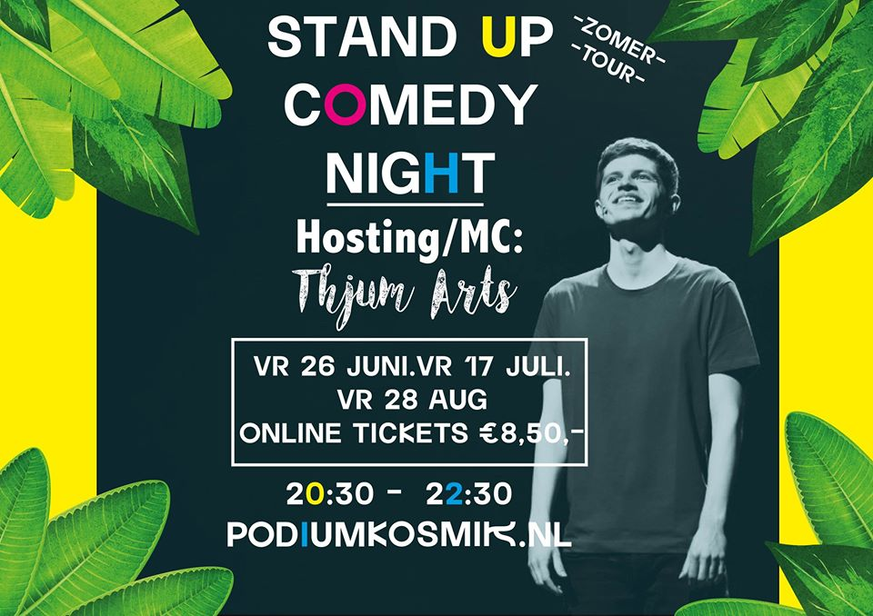 Comedy Night - Hosted by Thjum Arts @ KOSMIK
