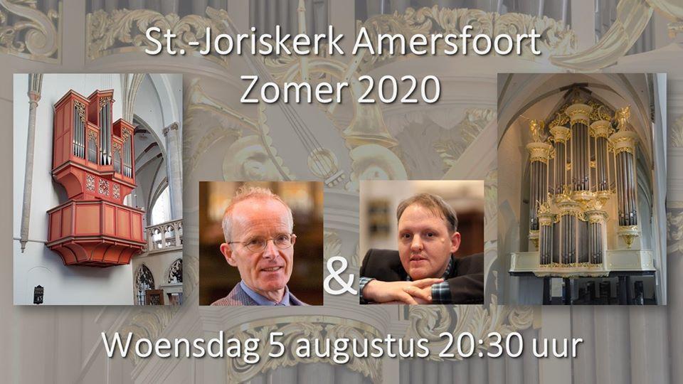 Bachconcert: Bas de Vroome en Rien Donkersloot @ Sint Joriskerk