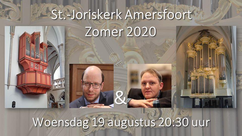 Orgelconcert: Gerben Mourik en Rien Donkersloot @ Sint Joriskerk