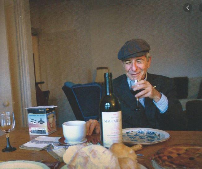 Leonard Cohen 3-gangen diner @ Beauforthuis