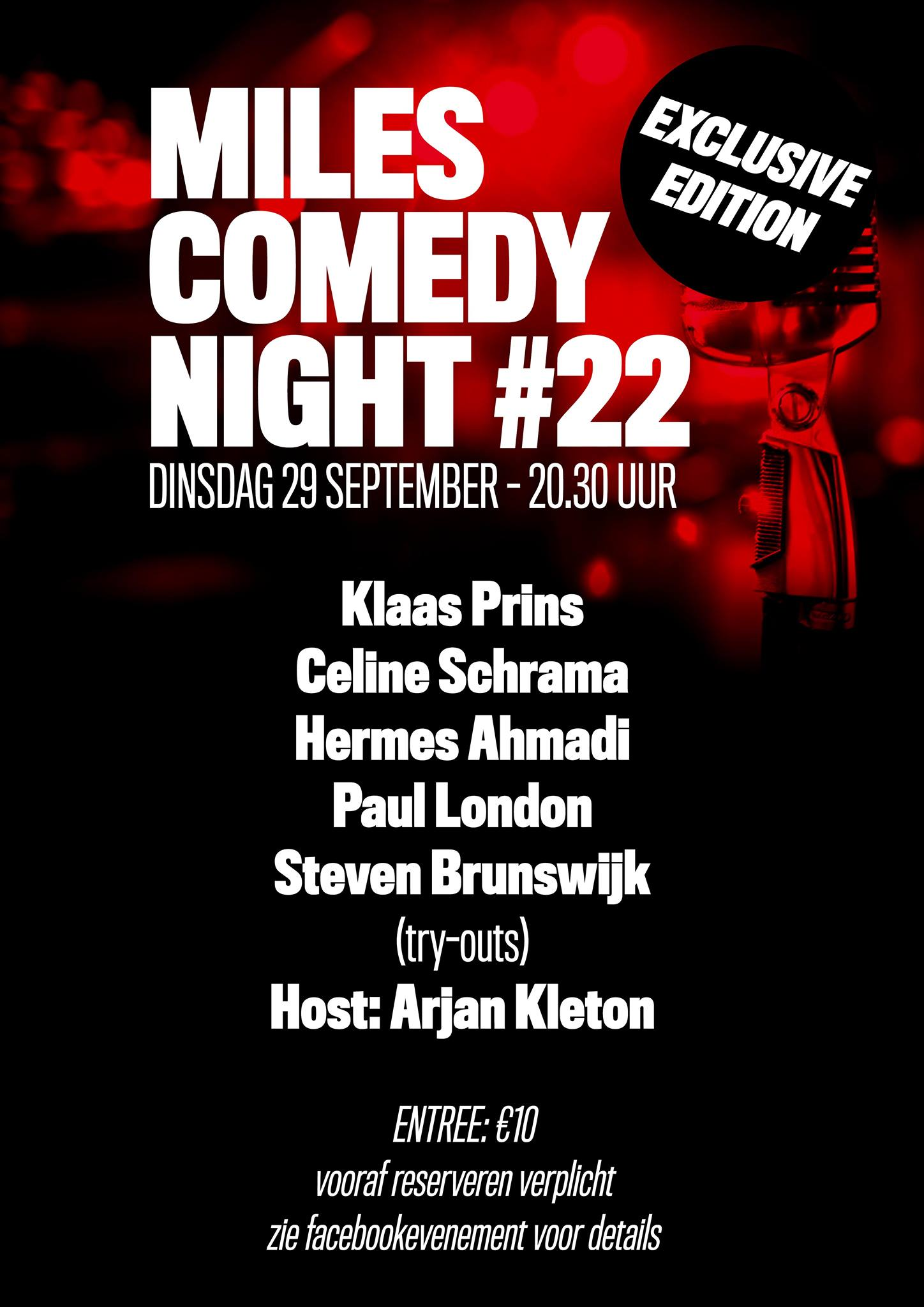 Comedy Night #22 @ Café Miles