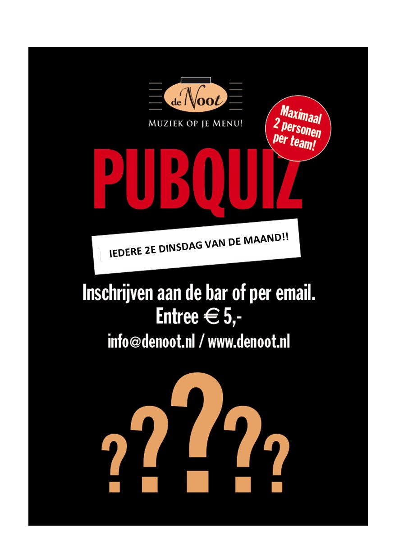 Pubquiz @ Café de Noot