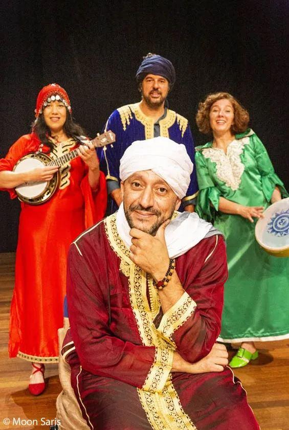 Liedjestovenaar 4+ De magie van Marokko @ Beauforthuis