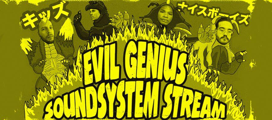 Fluor: Evil Genius Soundsystem @ Online