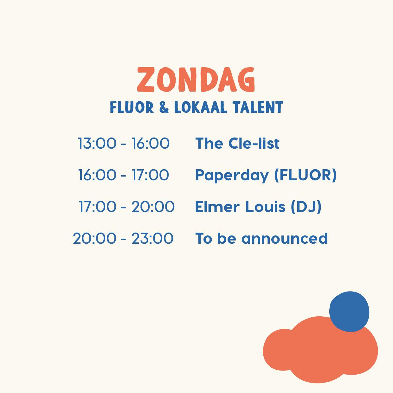 Fluor & lokaal talent @ Het Nieuwe Stadsterras